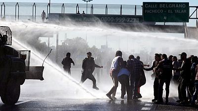 Primera huelga general en Argentina tras 16 meses de Macri en el poder