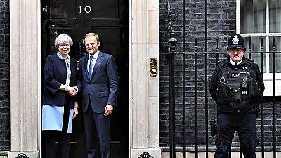 """May deja claro ante Tusk que no negociará sobre Gibraltar """"sin el consentimiento de su pueblo"""""""
