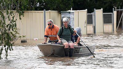 Los coletazos del ciclón Debbie obligan a evacuar a unas 4.000 personas en Nueva Zelanda
