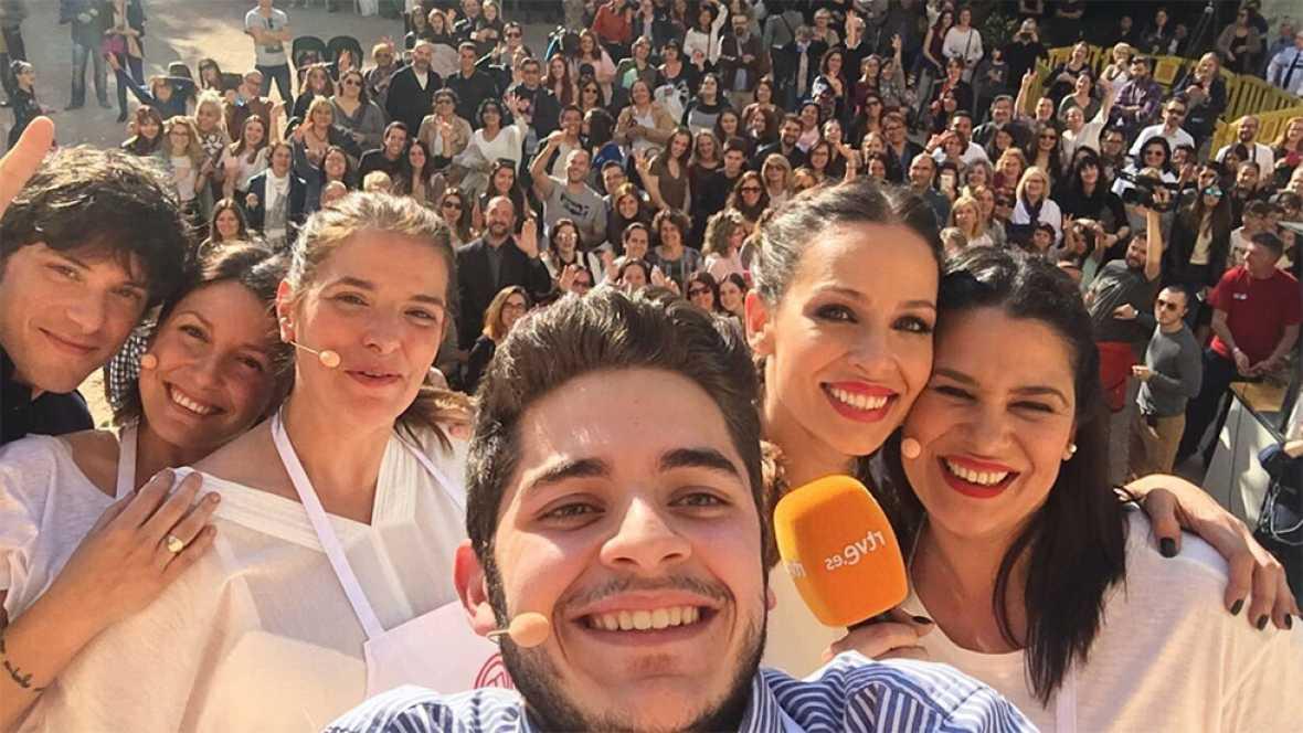 Show cooking de Fabián, Vicky, Virginia y Rocío