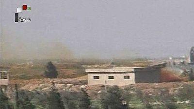 Primeras imágenes de la base aérea siria atacada por Estados Unidos