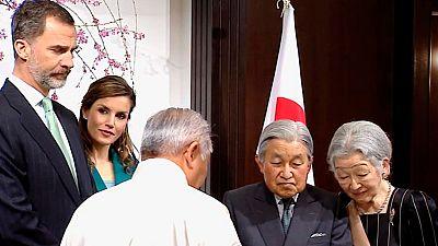 Los Reyes han finalizado su visita oficial a Japón