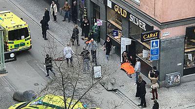Un testigo relata el atropello múltiple en Estocolmo, que se ha saldado con varios muertos