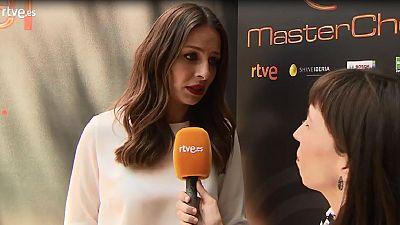 Eva González explica la nueva mecánica de MasterChef 5