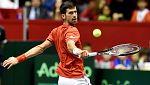 Djokovic cumple los pronósticos y gana cómodamente a Ramos