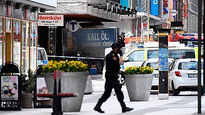 """Al menos tres muertos en un atropello en el centro de Estocolmo calificado como un """"ataque terrorista"""""""