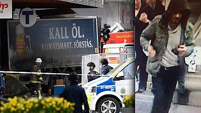 Un camión arrolla a una multitud de viandantes en el centro de Estocolmo