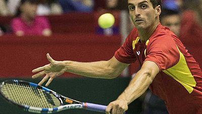 Tenis - Copa Davis 2ª Ronda Serbia-España: 1º partido individual - ver ahora