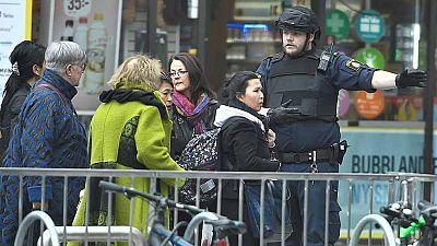 """Testigos del atropello en Estocolmo: """"Golpeó a la gente con una violencia brutal"""""""