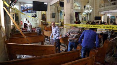 Decenas de muertos en un doble ataque del Estado Islámico contra iglesias en Alejandría y Tanta