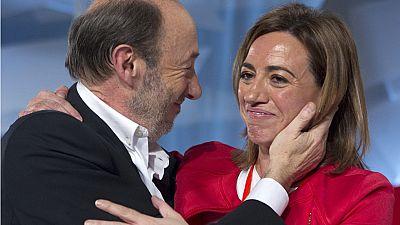 Los políticos españoles de todos los colores lamentan la muerte de Carme Chacón
