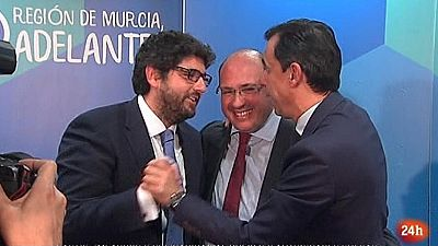 Parlamento - Otros parlamentos - Dimisión del presidente de Murcia - 08/04/2017
