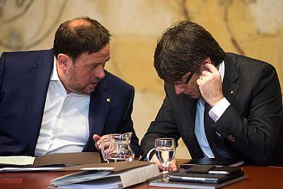 Continúan las discrepancias entre los socios del gobierno catalán