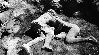 Descubren que los petrificados amantes de Pompeya son dos hombres