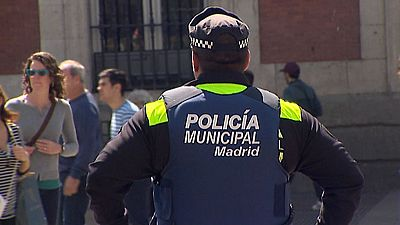 1.000 agentes desplegados en Madrid para evitar incidentes en el partido entre Atlético de Madrid y el Leicester