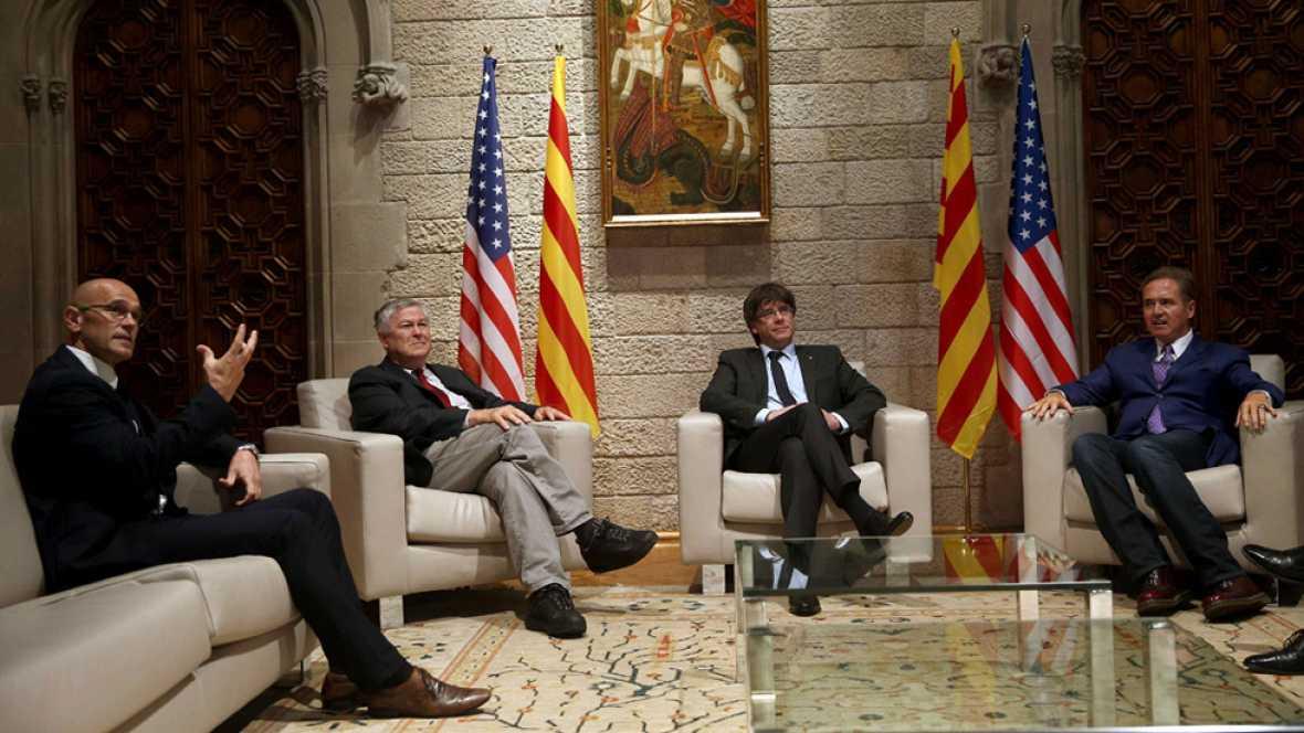 """Estados Unidos defiende una España """"fuerte y unida"""""""