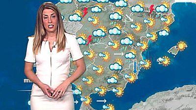 Predominio de cielo despejado en la mayor parte del país, aunque la nubosidad irá en aumento, sobre todo en el interior, mientras las temperaturas subirán en el área mediterránea y bajarán en el extremo suroeste.La Agencia Estatal de Meteorología (Ae