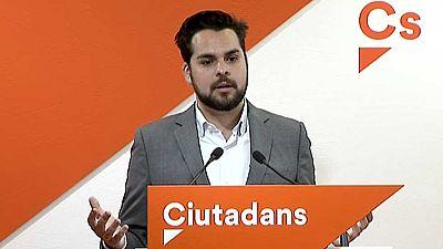 Ciudadanos, PSC y PP  coinciden en que nadie avalará un referéndum ilegal en Cataluña