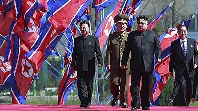 Baño de masas de Kim Jong-un en Corea del Norte