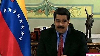 """Maduro llama """"terroristas"""" a los impulsores de las marchas contra el Gobierno"""