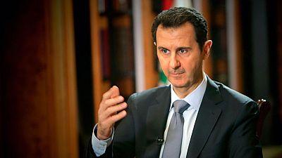 """El presidente de Siria asegura que el ataque quimico es una """"invención al 100%"""""""