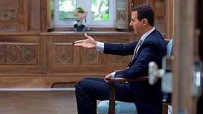 """Asad niega el ataque químico y asegura que es """"una invención"""" de las potencias occidentales"""