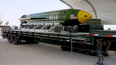 La gran bomba de Trump mata al menos a 36 yihadistas en Afganistán