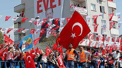 Turquía se prepara para el referéndum constitucional