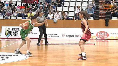 Baloncesto - Liga española femenina, Play off semifinal 1r. Partido grupo B: Spar Citylift Girona-Lacturale Araski - ver ahora