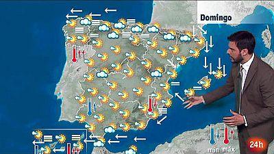 Bajan las temperaturas en el Mediterráneo y suben en Galicia
