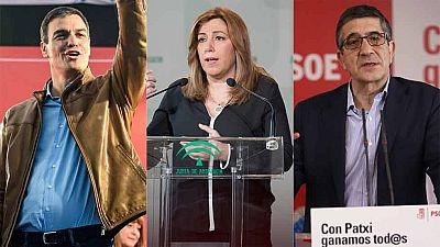 Las primarias del PSOE se activan este lunes con el registro de precandidaturas