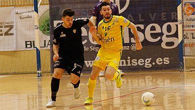 LNFS. Jornada 28. Jaén Paraíso 3-2 Santiago Futsal. Resumen - ver ahora