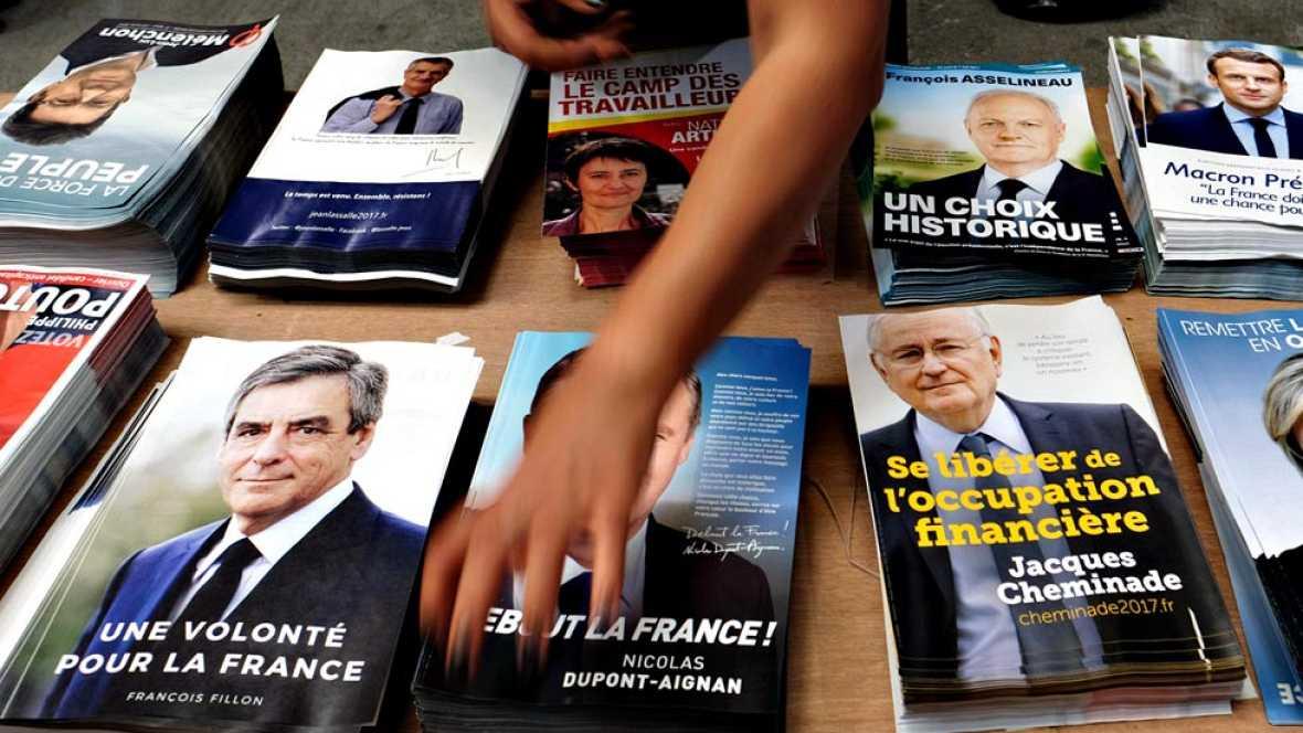 Resultado de imaxes para elecciones en francia