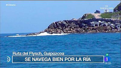 España Directo - Navegamos por la ría del Flysch, en Guipúzcoa