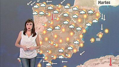 Bajan las temperaturas en el interior norte peninsular y en Canarias