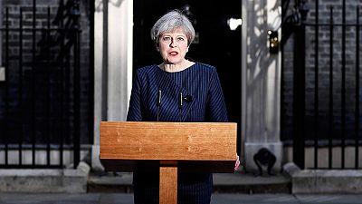 Theresa May convoca elecciones anticipadas en el Reino Unido para el 8 de junio