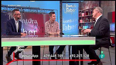 La Aventura del Saber. TVE. Sección de psicología.  Alfredo García Gárate y Guillermo Blázquez. Felicidad y bienestar