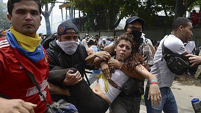La oposición antichavista toma las calles de Caracas en manifestaciones multitudinarias contra Maduro