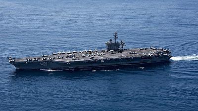El portaaviones nuclear de EE.UU. no estaba en Corea para disuadir a Pyongyang como había anunciado
