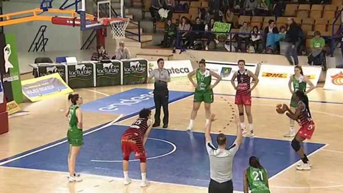 Baloncesto - Liga española femenina, Play off final 2º. Partido grupo B: Lacturale Araski - Spar Citylift Girona, desde Vitoria  - ver ahora