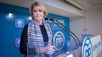"""Aguirre admite que la detención de González es un """"mazazo"""" y que está """"conmocionada"""""""