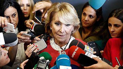 """Aguirre, entre lágrimas: """"Para mí, lo de Ignacio González sería muy lamentable"""""""