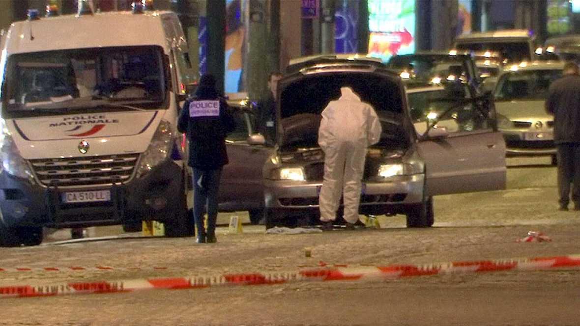 Resultado de imagen de El tirador de París sería un francés que pasó por la cárcel tras atentar contra un policía