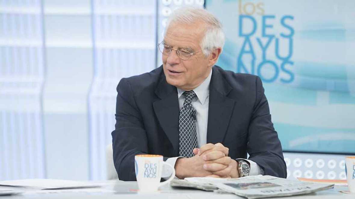 Los desayunos de TVE - Josep Borrell, expresidente del Parlamento europeo y exministro socialista - ver ahora