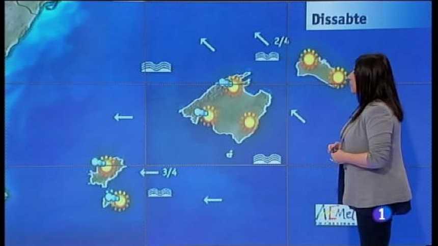 El temps a les Illes Balears - 21/04/17