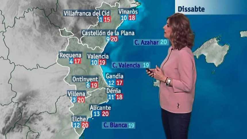 El tiempo en la Comunidad Valenciana - 21/04/17