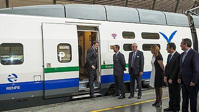 Rajoy anuncia más inversiones en alta velocidad