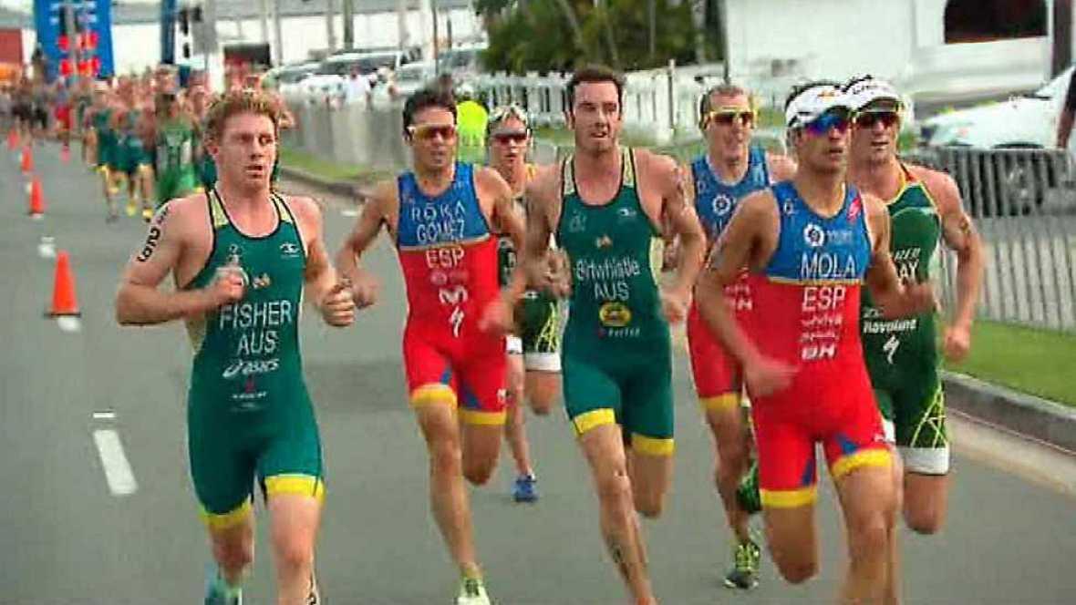 Triatlón - ITU World Series. Prueba Gold Coast. Resumen - VER AHORA