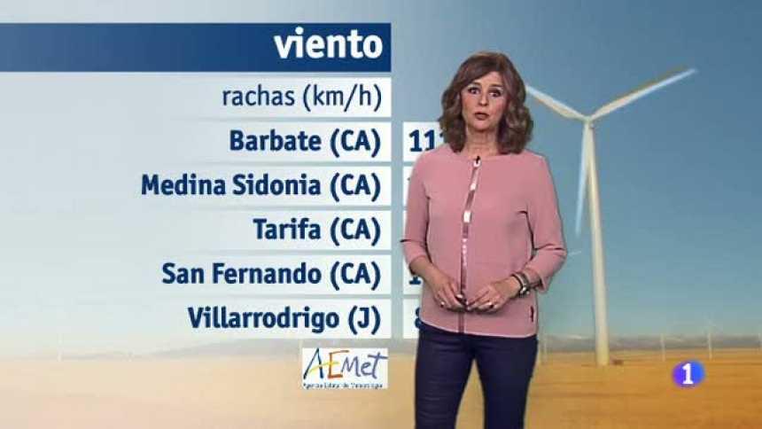 El tiempo en Andalucía - 21/04/2017