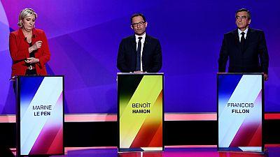 El tiroteo en París se convierte en arma electoral a dos días de las elecciones en Francia
